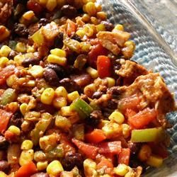 DASH Diet Mexican Bake -- one of my favorite go-to recipes, and makes for great leftovers!