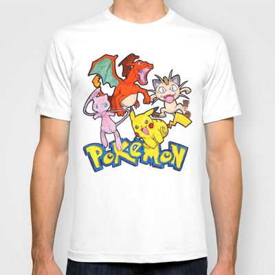 'Gotta Catch Them ALL' T-shirt by DeMoose - $22.00 Grant Free Shipping + $5 Off New Biker Tanks!