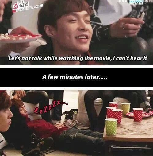 #lay#dimple <3. Sooo cute this part, but he did wake up to share a tear w the others
