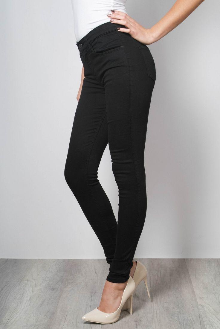 LTB - черные джинсы скинни, высокая посадка - 1009-50765-13588 200