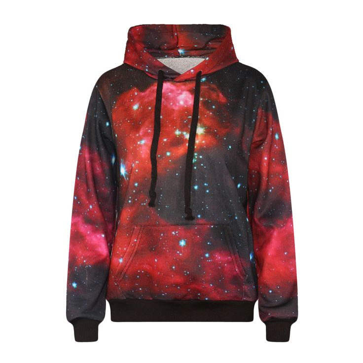 Harajuku lovers galaxy hoodie sweater jacket unisex - Thumbnail 1