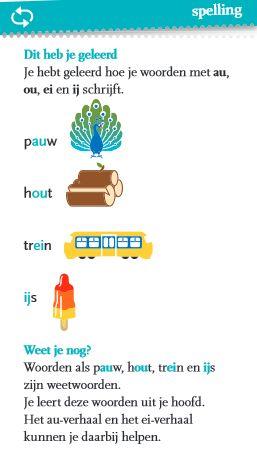 Groep 5-6: Spelling gr 4 thema 5 week 4 kaart 2 en 3