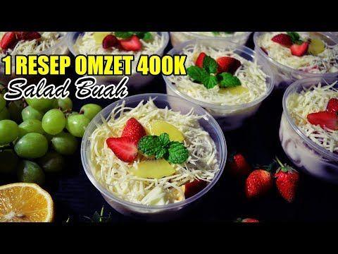Ide Usaha Salad Buah Ekonomis Rasa Premium Youtube Resep Salad Resep Makanan Saus Buah