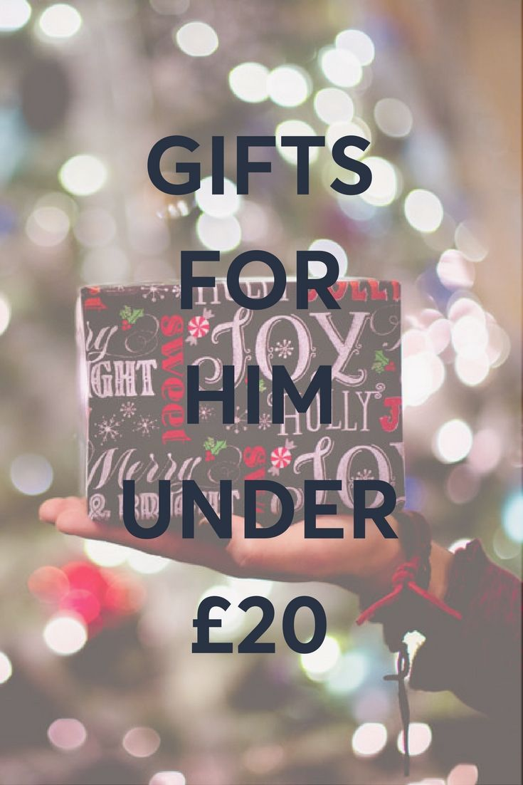 Gift ideas for the guy in your life under £20! Find them in a shop nearby in London.