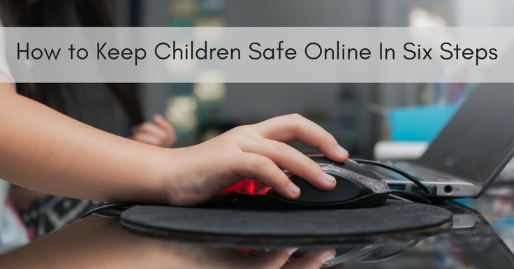 The following tips will help to ensure younger members of the family develop good Internet habits and stay safe online.