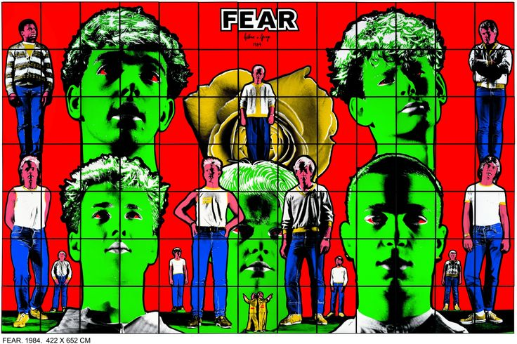 Gilbert and George - Fear, 1984