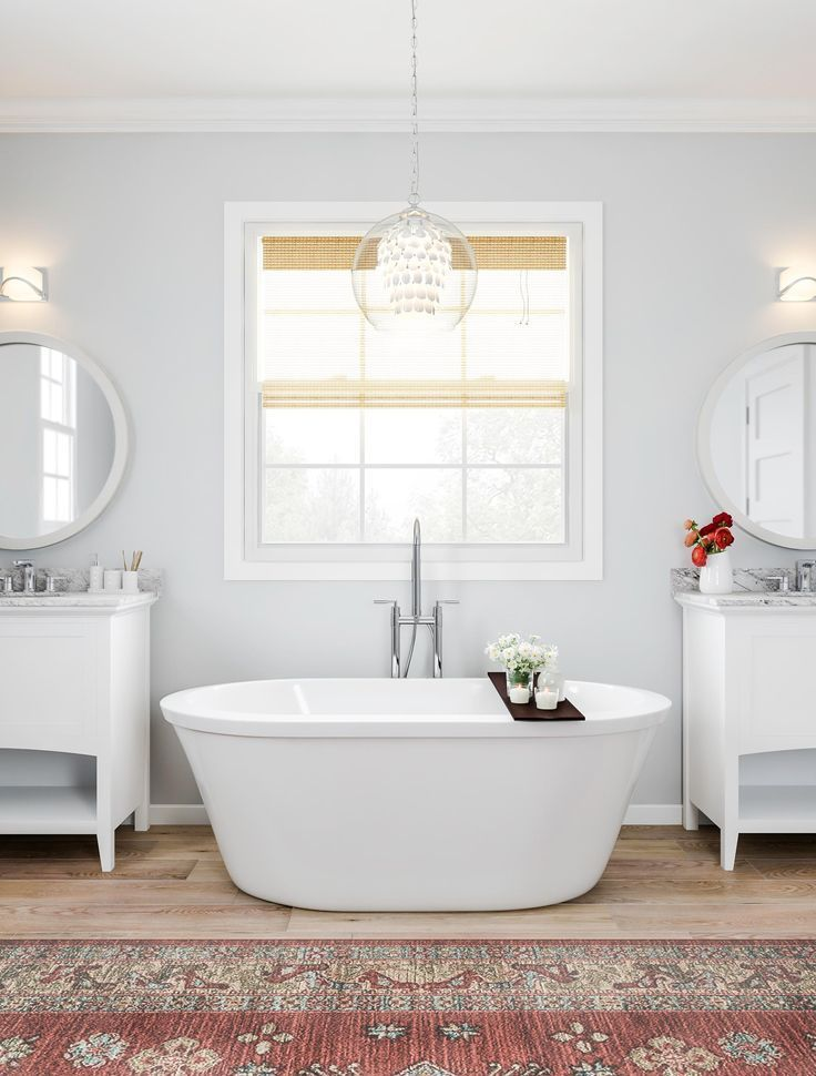 Blend Classic Bathroom Facets With A Bit Of Formal Design Lay A