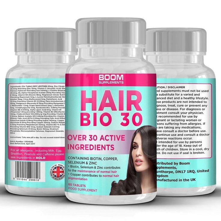 Hair Vitamins | Hair Growth Supplements | Biotin Hair Growth Tablets For Women