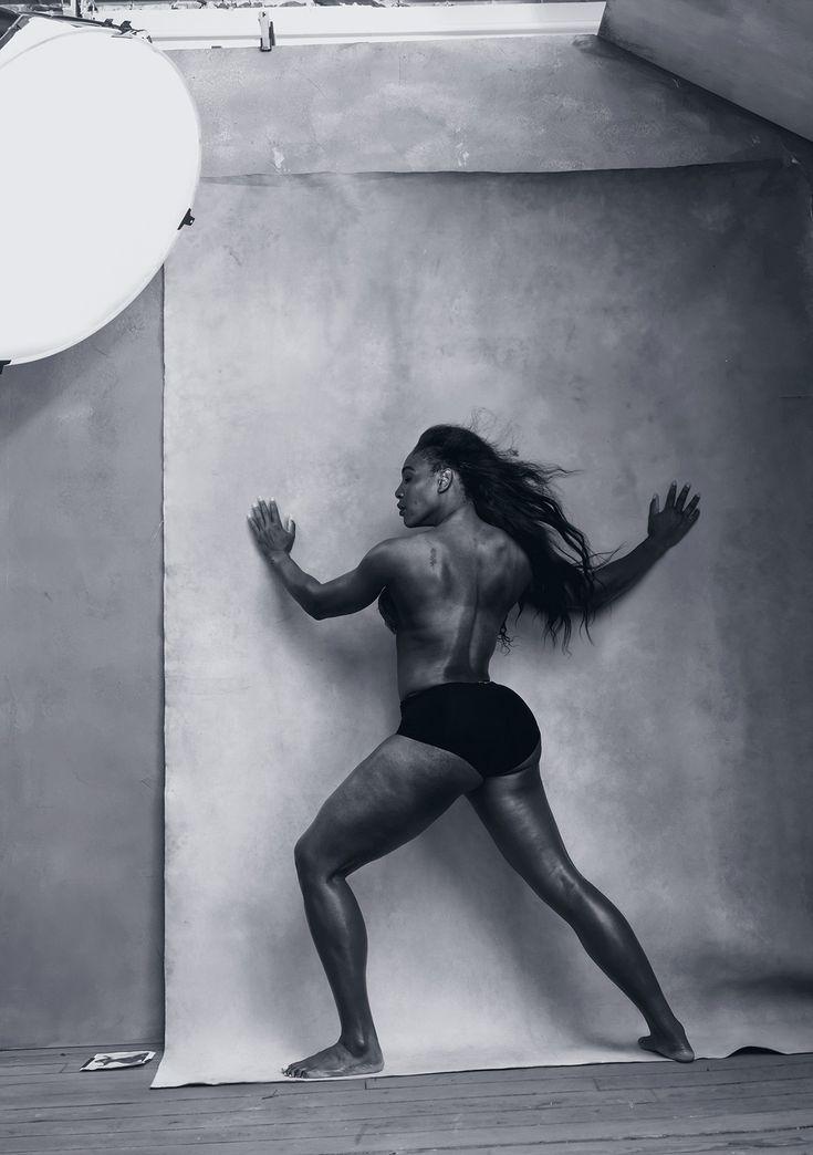 Serena Williams in 2016 Pirelli Calendar | POPSUGAR Fitness
