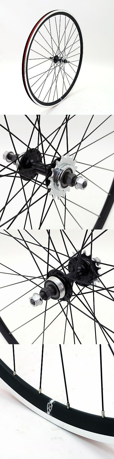 Wheels and Wheelsets 177830: Eighthinch Amelia Track 700C Rear Wheel // Fixed Gear/Single Speed // Black -> BUY IT NOW ONLY: $59.95 on eBay!