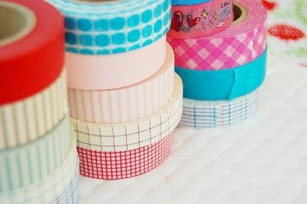 Article | 30 Ways to Use Washi Tape · Scrapbooking