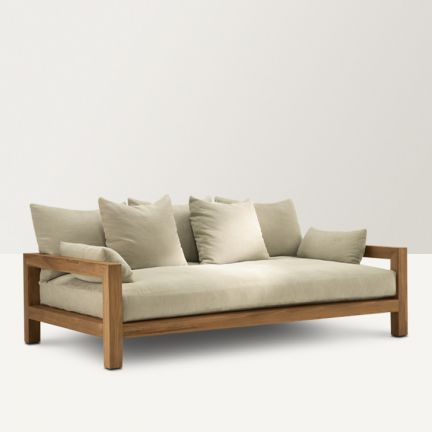 25 Best Ideas About Wooden Sofa On Pinterest Wooden
