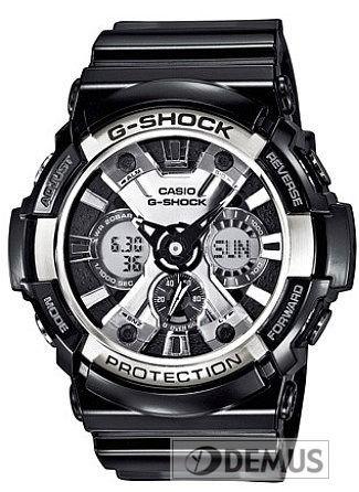 #Zegarek Casio #GA-200BW-1AER \ Zegarki Casio \ Casio G Shock Zegarki Casio \ Zegarki meskie Casio \ sklep :: DEMUS.pl