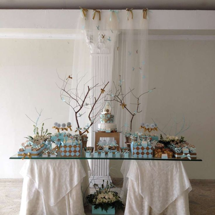 Baptism of a baby boy | CatchMyParty.com