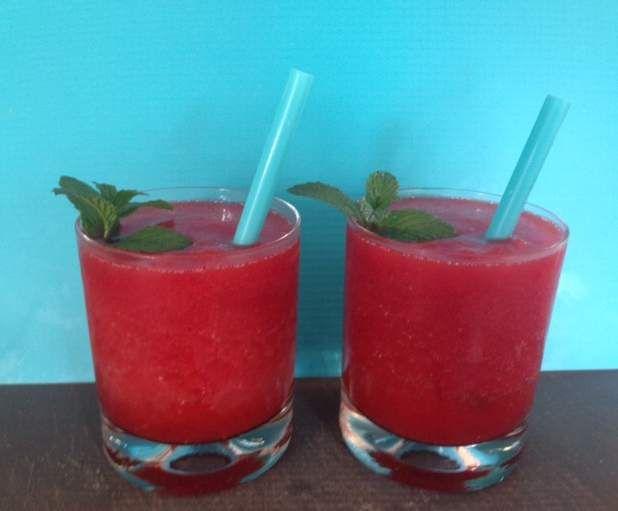Rezept Erdbeer- Daiquiri Partymenge 1l von karolcia76 - Rezept der Kategorie Getränke