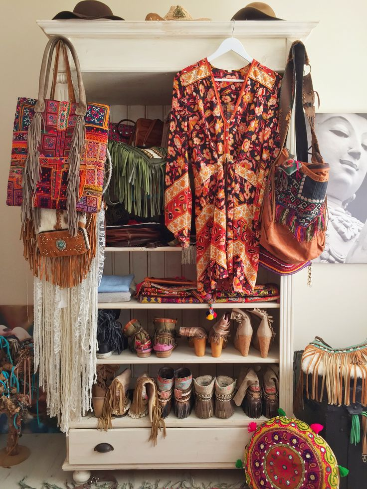 My little boho closet!