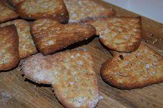 Mor-Mia´s: Knäckebröd toppat med flingsalt