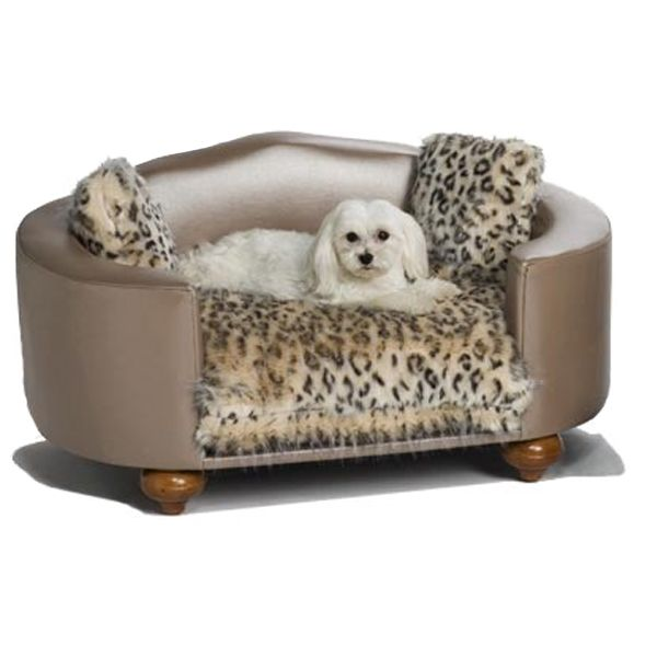 fancy pet furniture. Hollywood Leopard Luxury Dog Bed 1099 Fancy Pet Furniture
