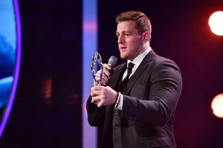 Texans' JJ Watt honored with Laureus Sporting Inspiration award in Monaco: * Texans' JJ Watt honored with Laureus Sporting Inspiration…