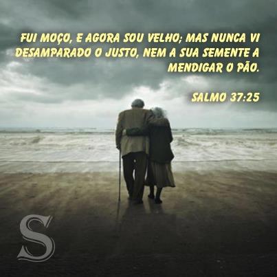 Resultado de imagem para salmos 37:25