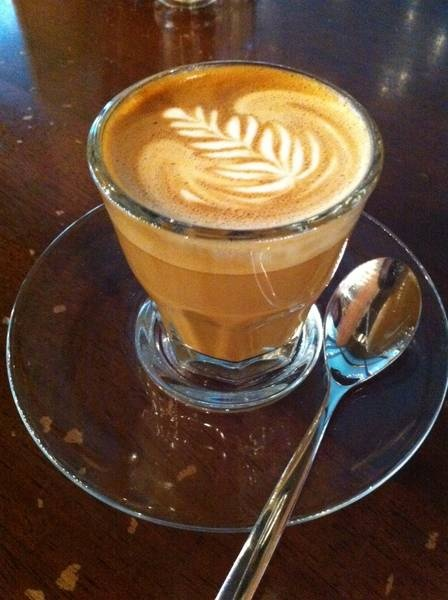 Piccolo latte - for coffee lovers looking for an extra oomph.
