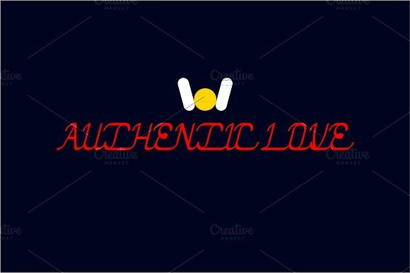 authentic love font by weknow on @creativemarket