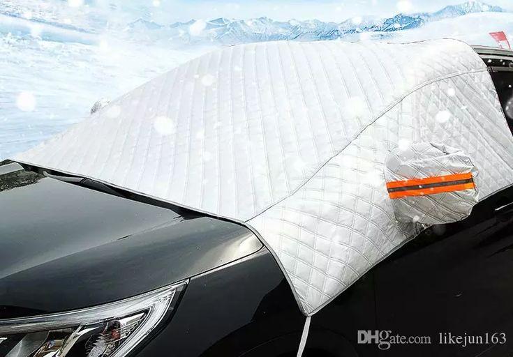 Universal car windshield front window cover dust rain snow