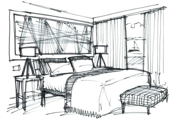 Interior Design Sketches Tutorial At Paintingvalley Com