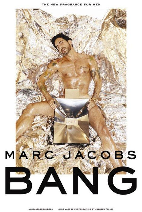 Marc Jacobs Bang ad campaign/Be Your Own Brand