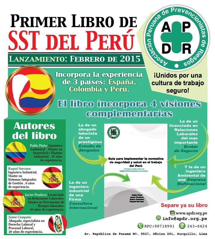 Datos del primer libros de normativa de SST del Perú