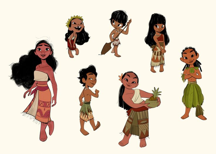 Bobby Pontillas - Moana's out in theaters today! After animation...