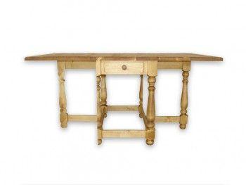 Skládací stůl ze smrkového dřeva Mexicana 5