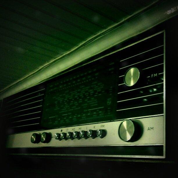 60's Philips radio. still in use.