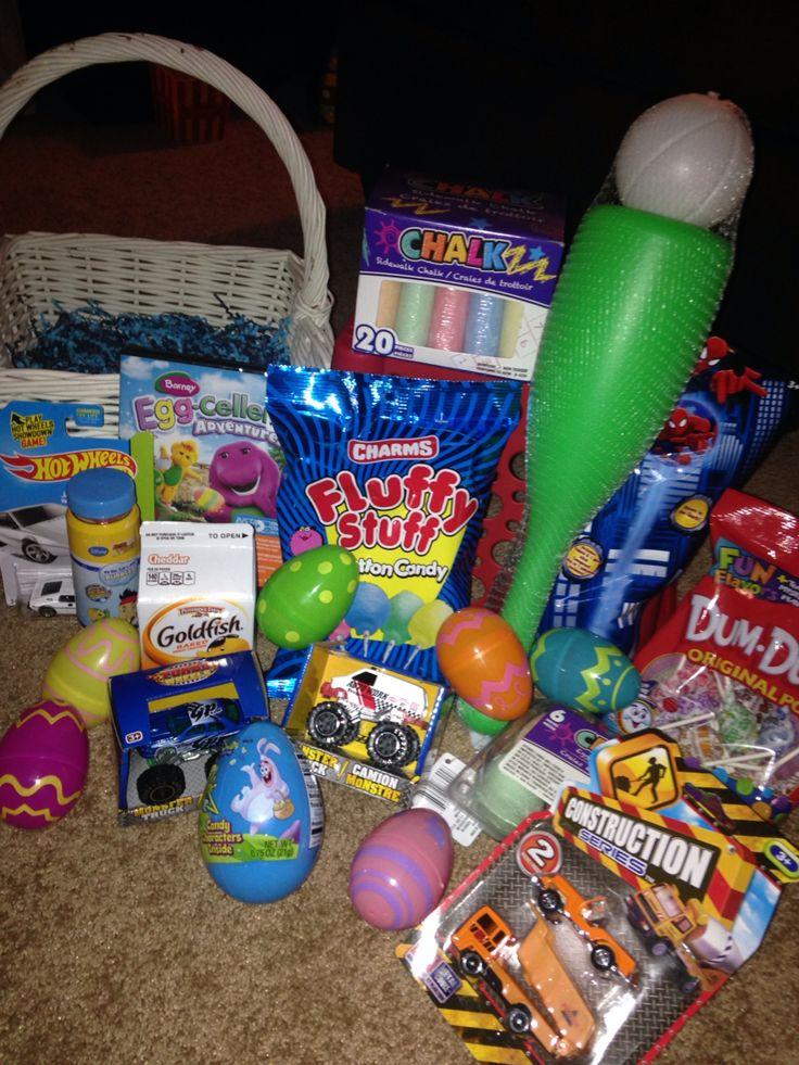 Toddler Boy Easter Basket Idea Dollar Tree Hoppy Easter