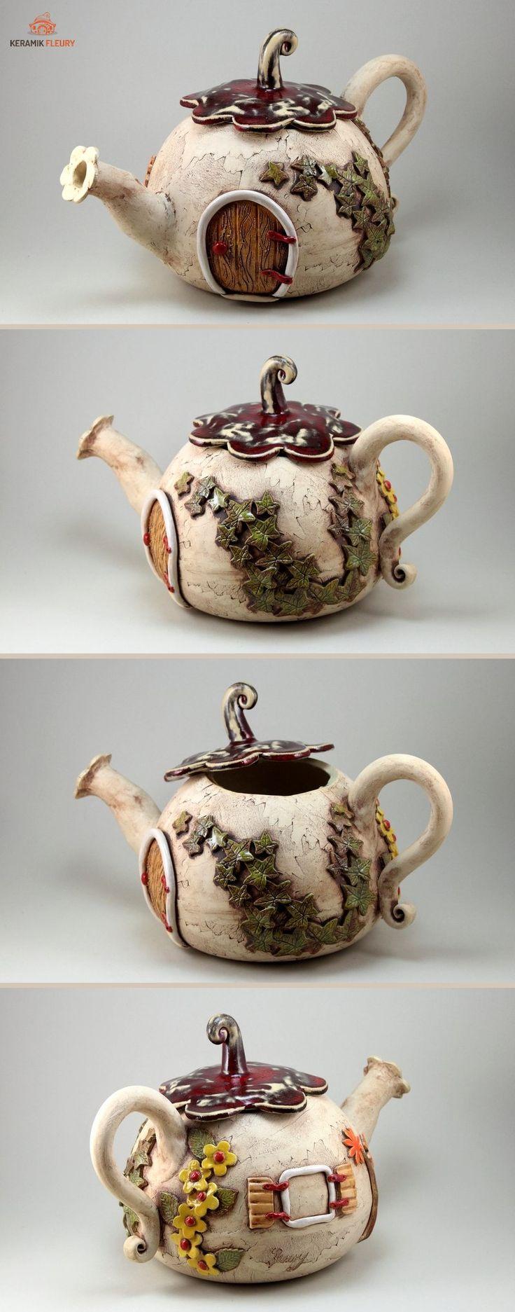 Keramik Teekanne - eine Überraschung für Teetrinker