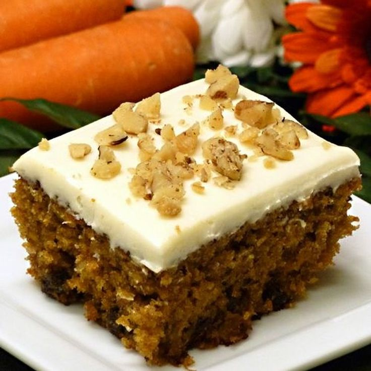 Moist and Delicious Carrot Cake With Pineapple and Coconut