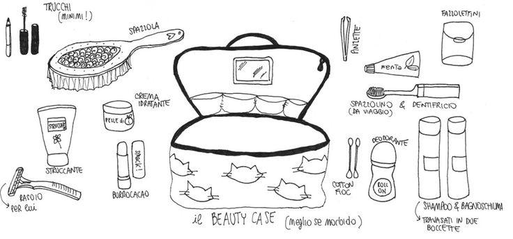 Cosa mettere in valigia? Lista beauty case @viachesiva