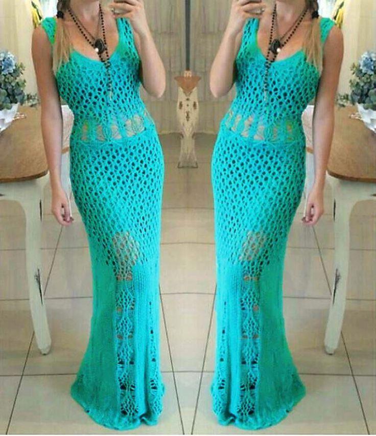 Crochet dress                                                                                                                                                                                 More