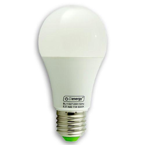 11W LED Bulb, E27, warm white light, 3 years warranty.  11W Bec LED, E27, 220V, lumina alba calda, 3 ani garantie - 23.99 RON www.dienergyled.ro