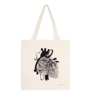 Heart #feminism #feminist #totebag #uterus #equality #fightpatriarchy #pussypower