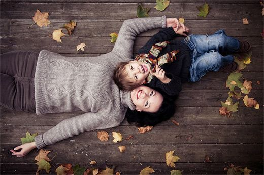 Lovely happy mother child son daughter photography