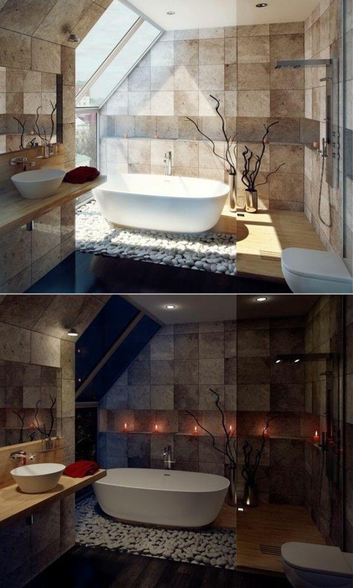 1000 id es propos de salle de bains taupe sur pinterest for Idee couleur peinture salle de bain