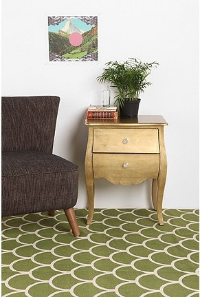 UrbanOutfitters.com > 5x7 Stamped Scallop Rug- green: Decor, Scallops, Urban Outfitters, Living Room, Stamped Scallop, Rugs, 5X7 Stamped, Scallop Rug