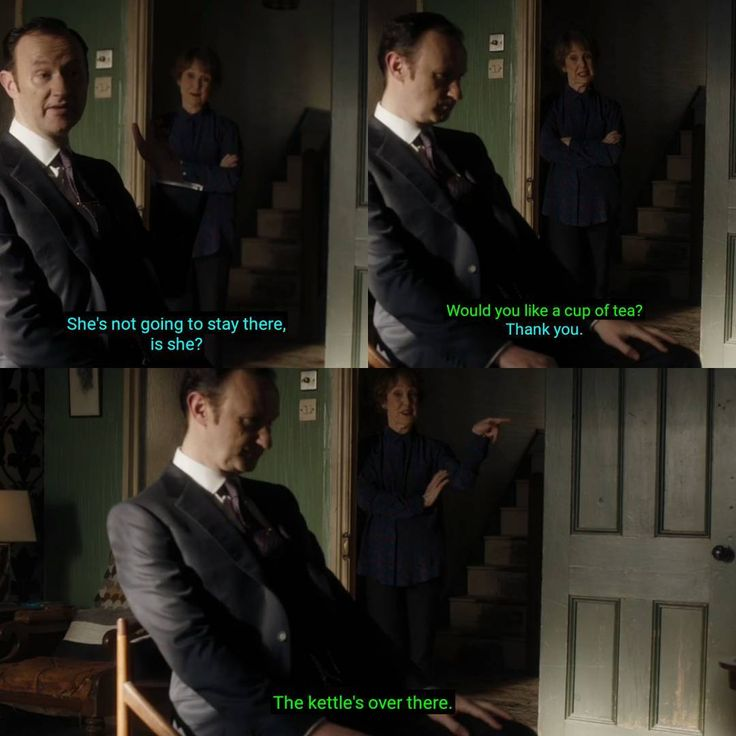 "Sherlock S04 EP03 ""The Final Problem"". Season 4. Episode 3."