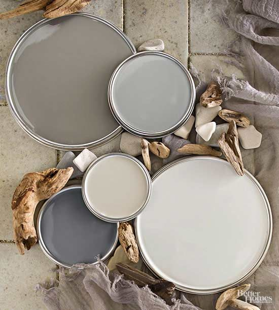 """Yes, there is such a thing as a warm gray, so don't dismiss this hot neutral as too cold. It's been called the new brown and the new black, but New York City designer Jenny Wolf considers gray the new white. """"It's a nice alternative to white,"""" she says. """"It's neutral. It's timeless.""""/"""