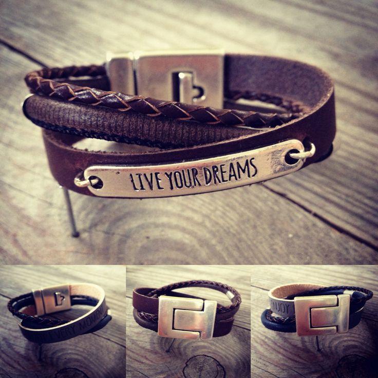 #Armband voor #mannen @abitoflilli