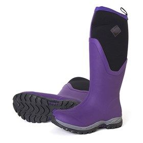 The Muck Boots Arctic Sport II Tall - Purple  delivers the same warm and comfortable performance features of the Arctic Sport II Mid in a taller boot .