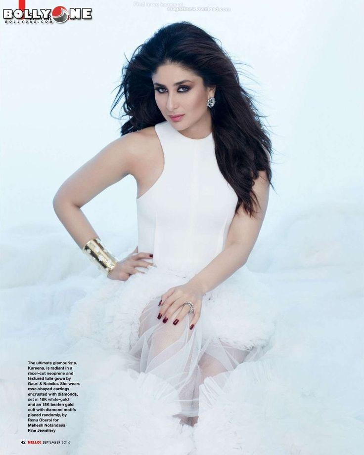 Stunning Kareena HQ Pics From HELLO Magazine September 2014