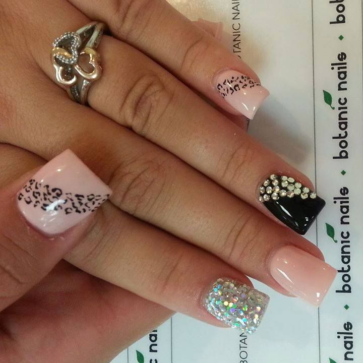 Simple Nails Designs With Rhinestones | www.pixshark.com ...