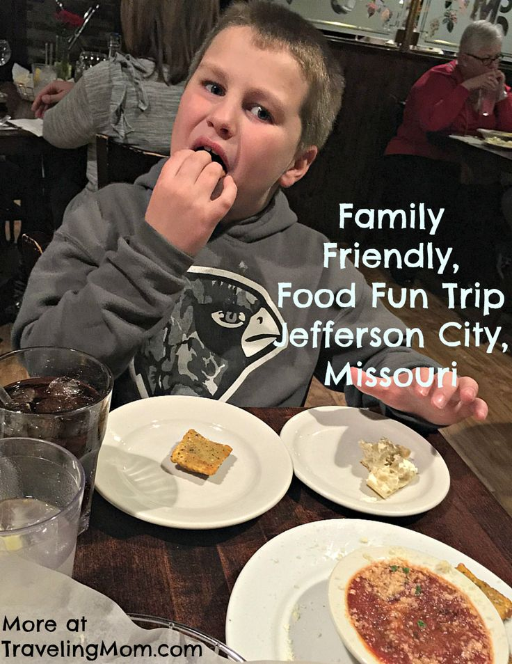 When you're road tripping, here are some family friendly restaurants in Jefferson City, Missouri.